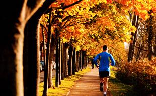Jogging nel parco